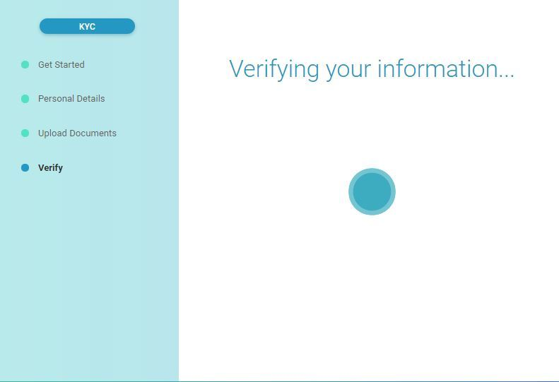 verifying your infomation